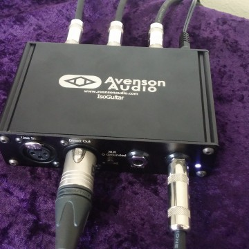Introducing the IsoGtr: IsoDI, Reamp, 3-way Splitter all in one.