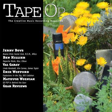 IsoGtr Gear Review in Tape Op Magazine Mar/Apr 2016 Issue