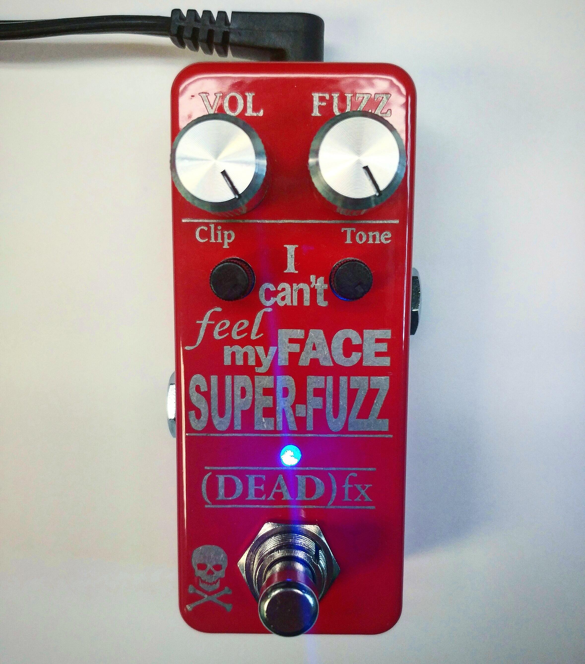 Deadfx I Cant Feel My Face Super Fuzz V2 Avenson Audio Circuit Icfmf Front
